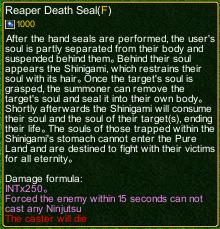 naruto castle defense 6.0 Shiki Fujin: Dead Demon Consuming Seal detail
