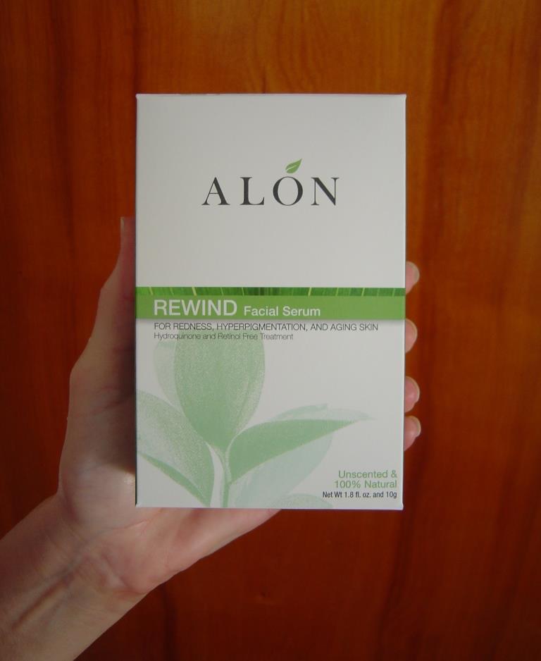 Alon Labs Rewind Skin Rejuvenation Formula in box