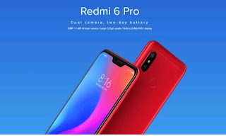 Redmi 6 Pro Specifications comparison