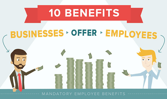 10 Benefits Businesses Offer Employees