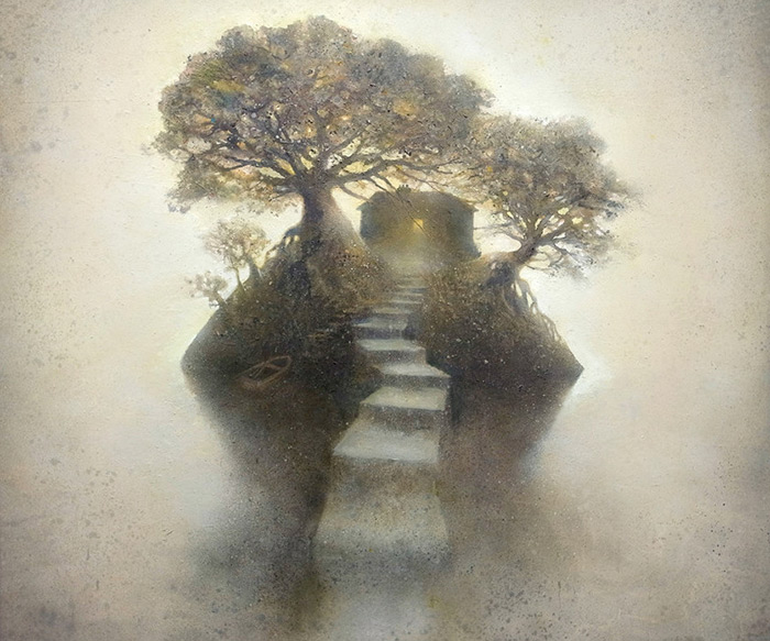 Dreamy And Mysterious Paintings By Kevin Gray