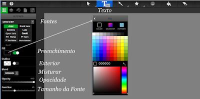 2 Sketchpad 3.7 - Inteface - Icons de Topo - Texto