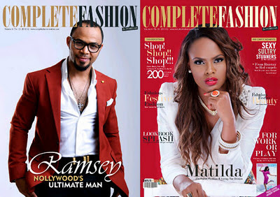 Ramsey Noah and Matilda Obaseki Cover Complete Fashion 1