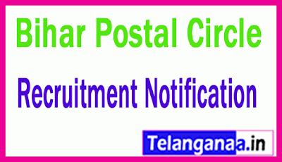 Bihar Postal Circle Recruitment Notification