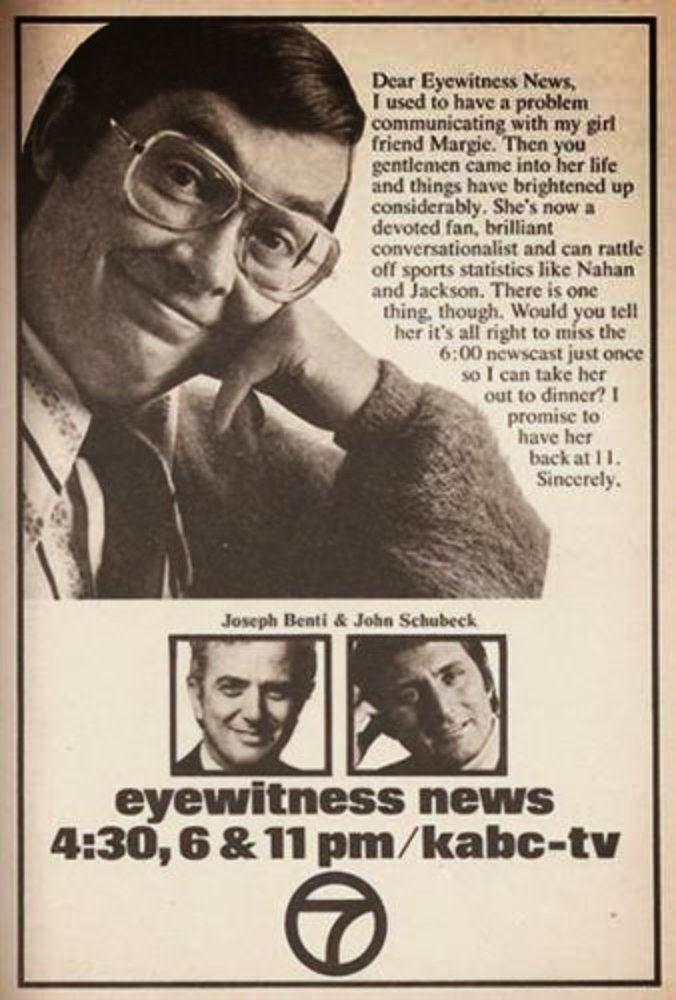 LOS ANGELES TV NEWS ANCHORS & REPORTERS: Dear Eyewitness ...
