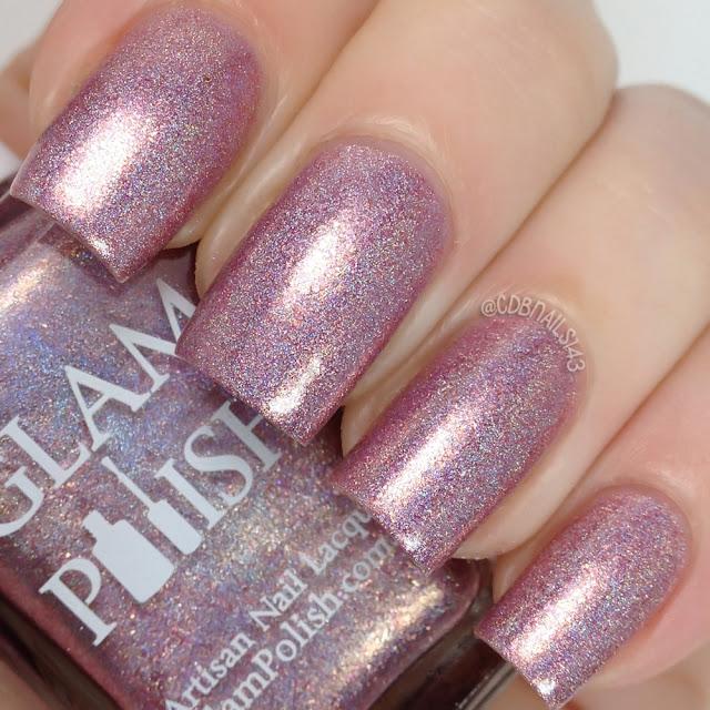 Glam Polish-Pink Gold Peach!