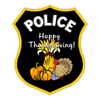 Police and Law Enforcement Thanksgiving Memories