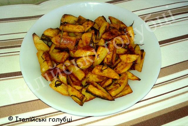 хрумка картопля печена