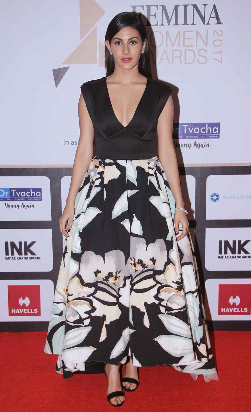 Amyra Dastur Attend Femina Women Awards 2017 Event Stills