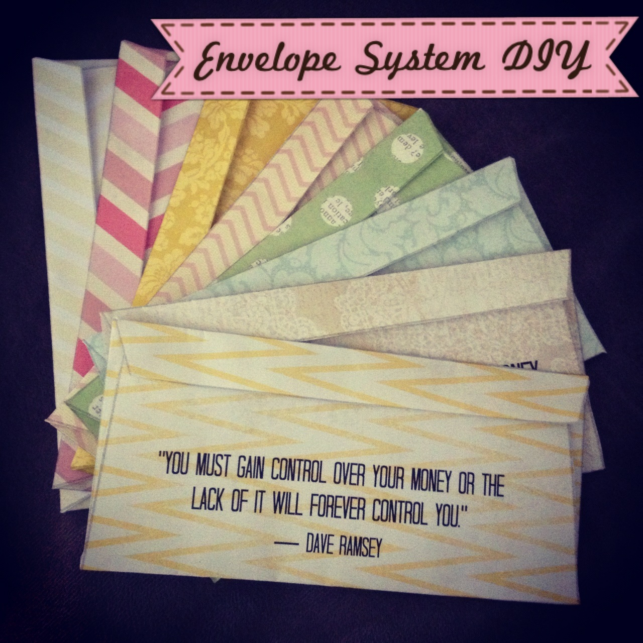 Dave Ramsey Envelope System Printable That Are Old