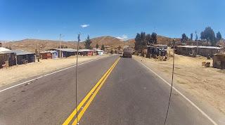 Muitos vilarejos ao longo do caminho.