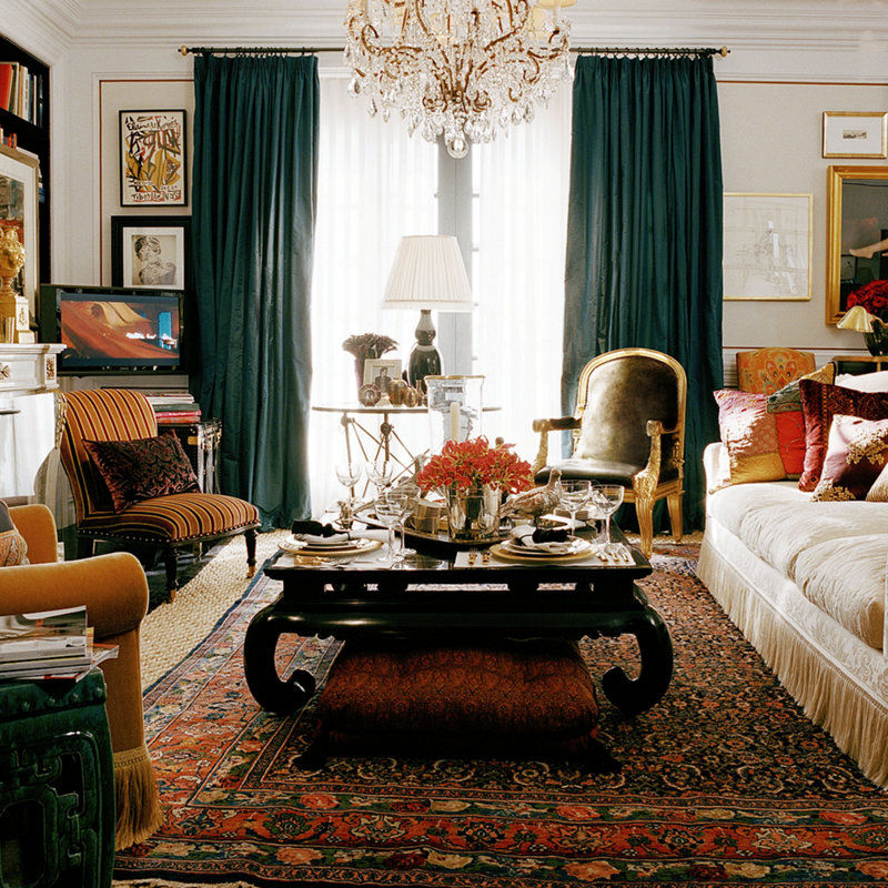 8bf7cfa5 Color Outside the Lines: Ralph Lauren Home Collections Archive ...