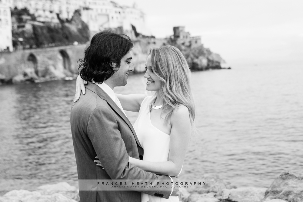 Wedding couple in Amalfi