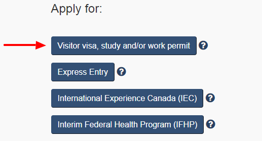 how to apply canada visit visa online from usa