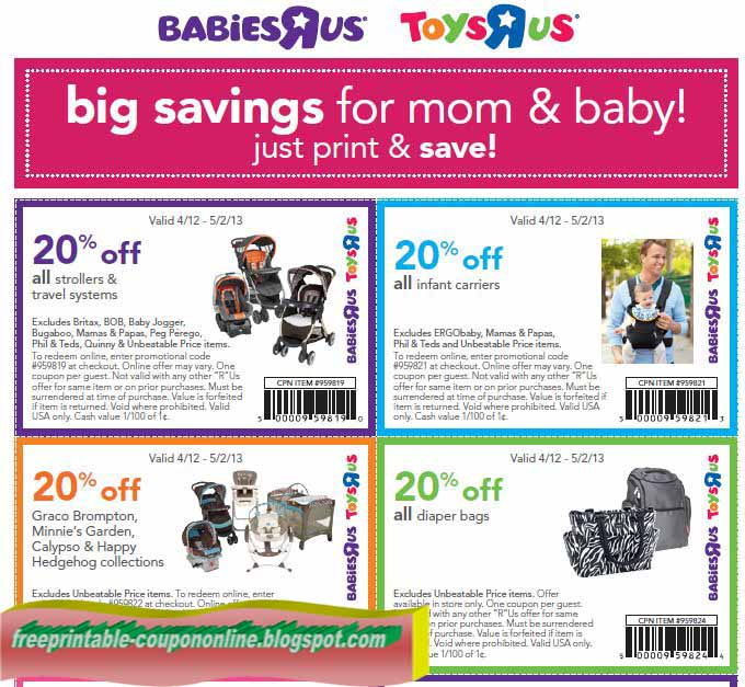 babies r us online coupon code september