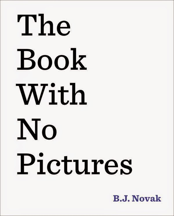 Book with no pictures by B.J. Novak book cover