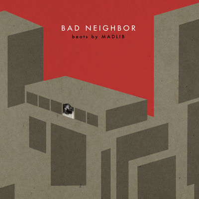Madlib - Bad Neighbor (Instrumentals) - Album Download, Itunes Cover, Official Cover, Album CD Cover Art, Tracklist