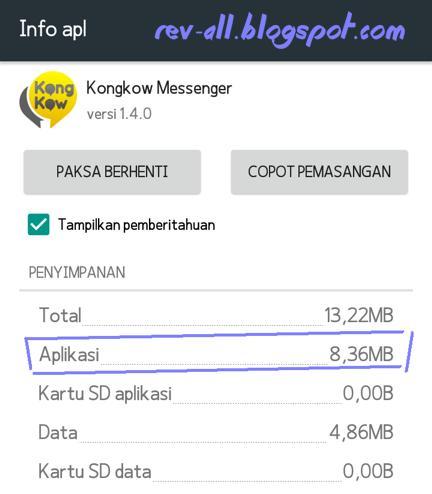 Contoh Ukuran file apk setelah diinstall di android (rev-all.blogspot.com)