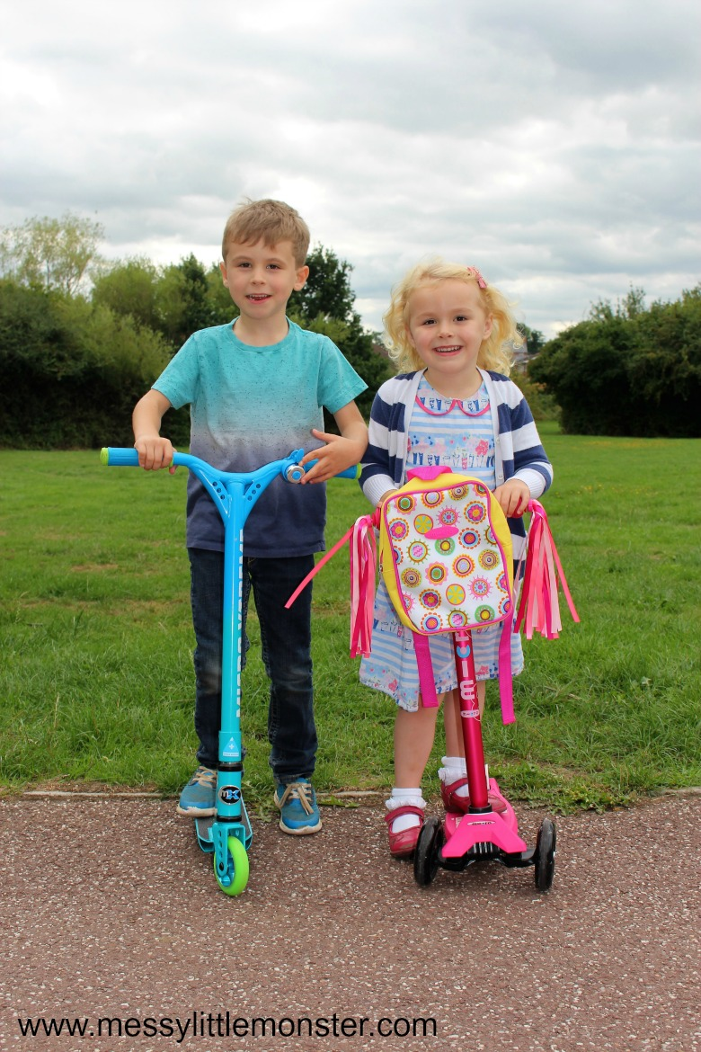 micro scooter review - the benefit of getting outdoors for kids