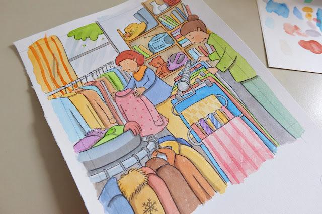 ilustrace obchod