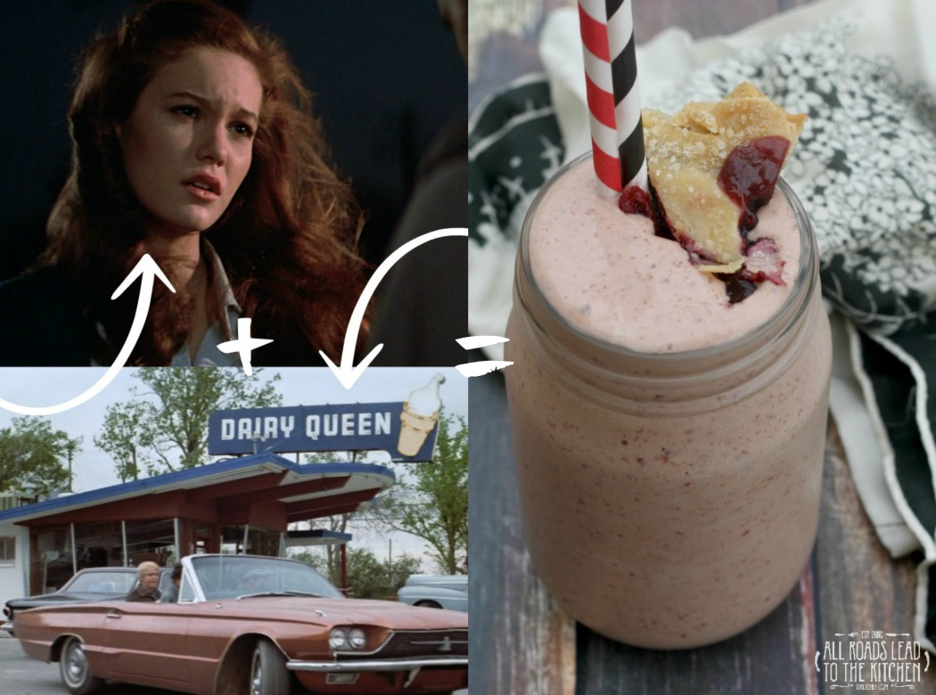 Cherry Pie Milkshakes inspired by The Outsiders