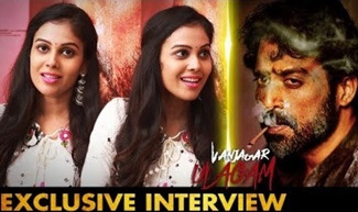 Actress Chandini Interview | Vanjagar Ulagam Movie