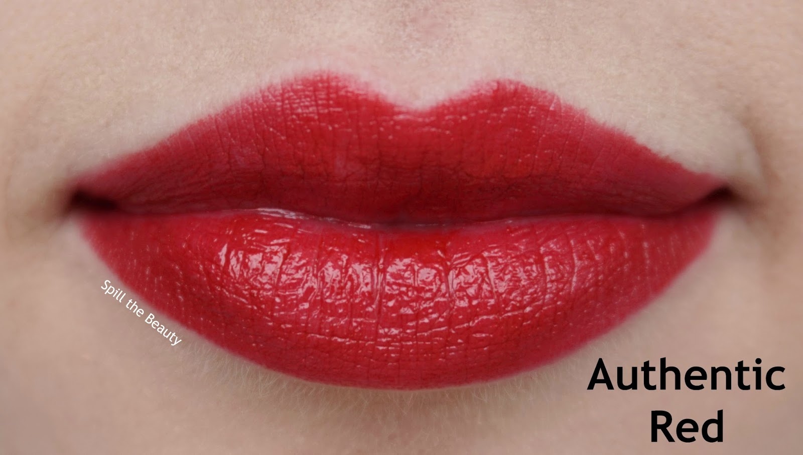 mac caitlyn jenner review swatches authentic red whirl compassion lipstick authentic red lip swatch