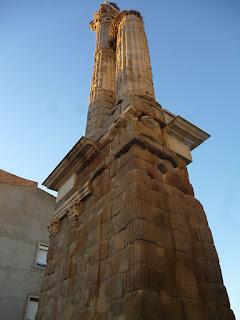 Columnas. Dístilo de Zalamea la Serena