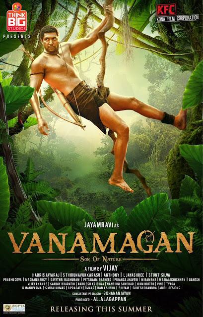 Vanamagan First Look Poster