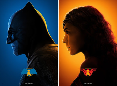 "Justice League ""Colors"" Character Movie Poster Set"