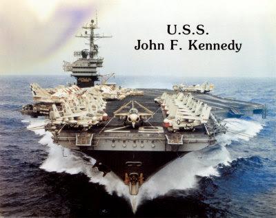 deadly uss john f kennedy cv 67 big john army and weapons