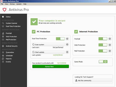 Avira Antivirus Pro Full Version