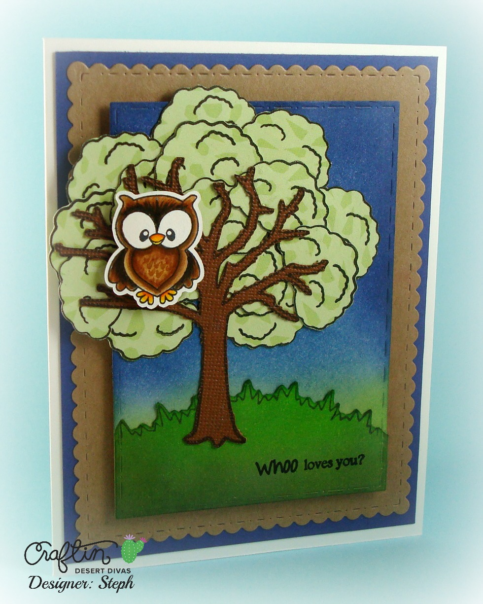 Paper Piecing by Steph: Craftin Desert Diva's March Stamp ...