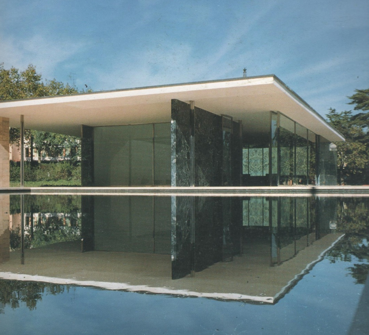 English For Architects 2015 Barcelona Pavilion Mies Van Der Rohe 1929