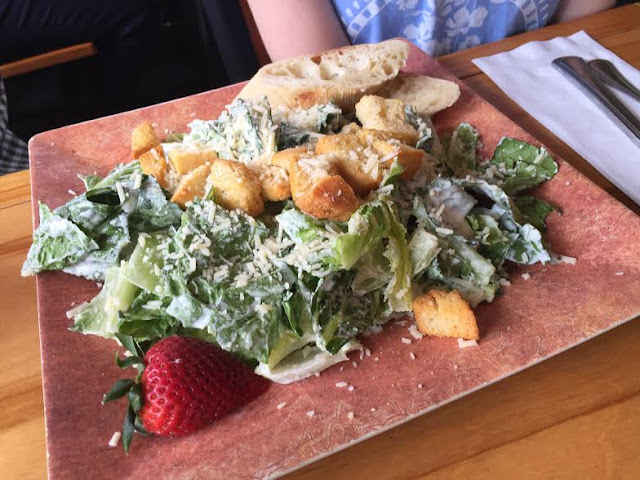 Caesar Salad at the Chickadee Cottage Cafe