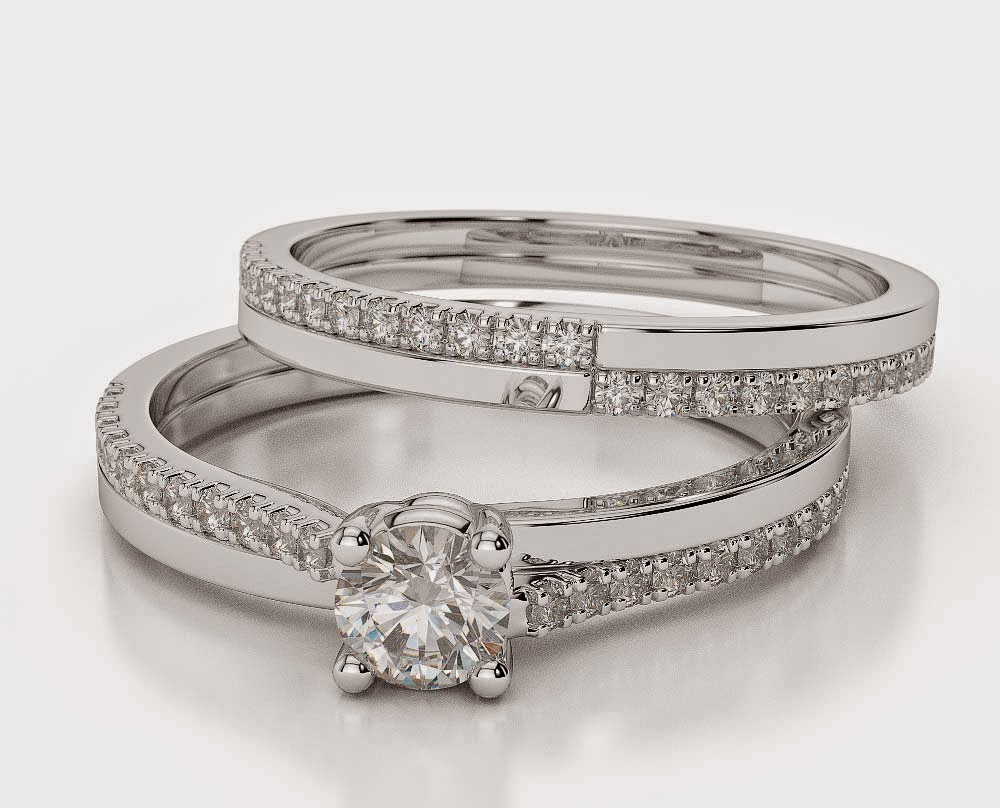 Diamond Bridal Sets Wedding Rings Under 2000 Dollars Images