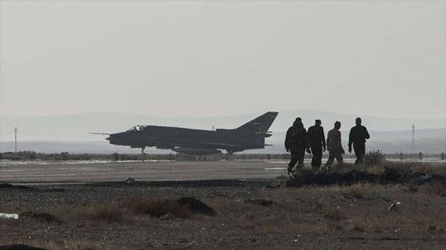 Rusia tacha de 'muy peligroso' ataque israelí a base aérea siria