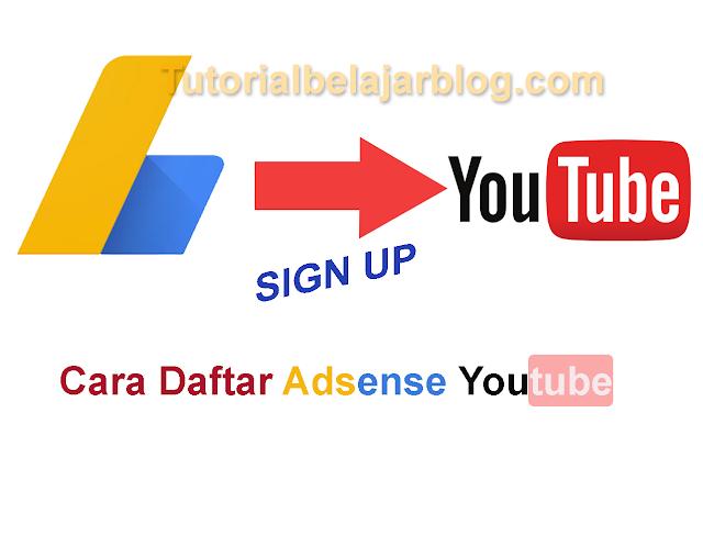 Cara Termudah Daftar Akun Adsense Youtube
