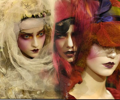 John Galliano, Gotic, Makeup, Paciugopedia