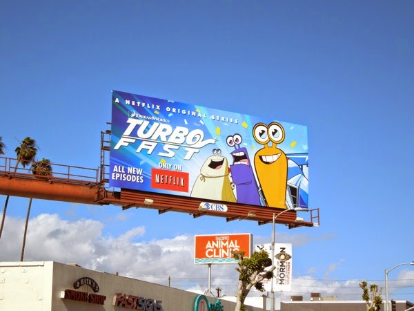 DreamWorks Turbo FAST billboard