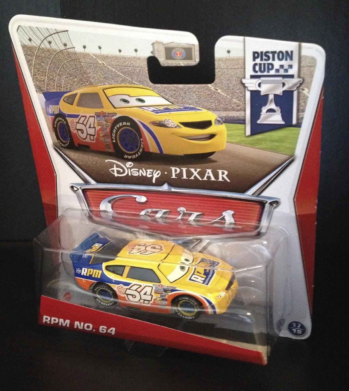 Dan the Pixar Fan: Cars: Winford Bradford Rutherford (RPM)