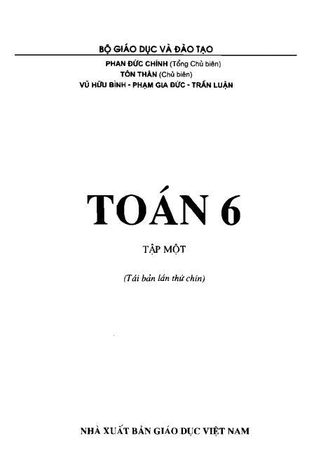 Trang 2 sach Sách giáo khoa Toán 6 Tập 1