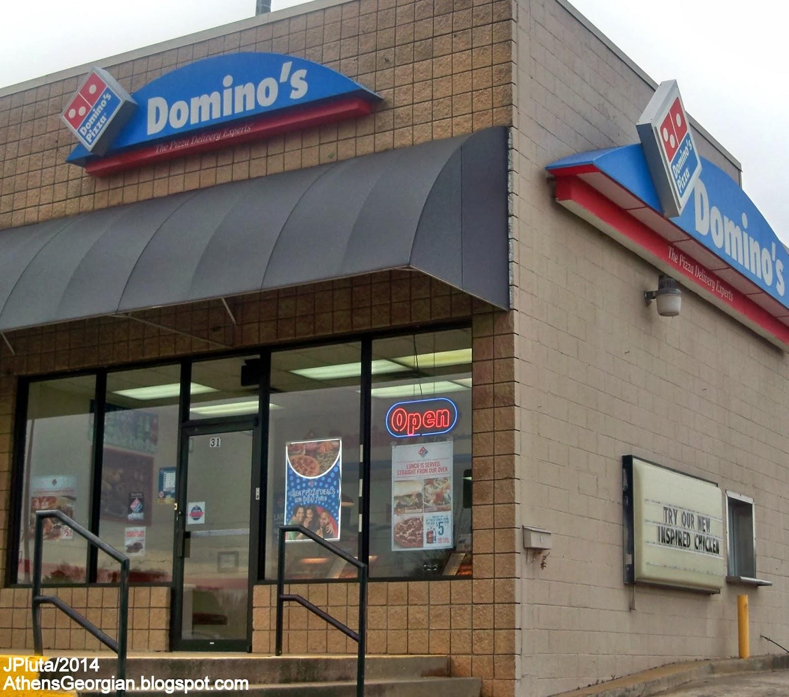 Domino S Pizza Athens Georgia Atlanta Highway Delivery Restaurant