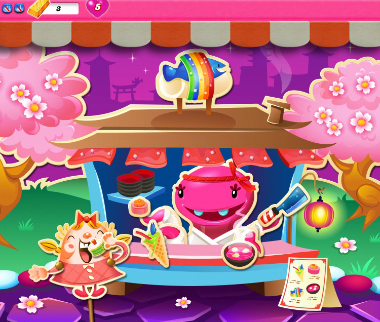 Candy Crush Saga 1176-1190