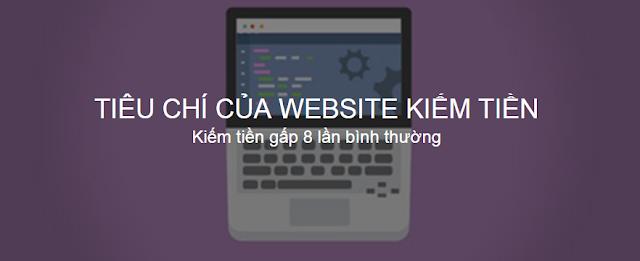 Website chuẩn kiếm tiền có hiệu quả tốt hơn