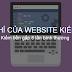 Tiêu chí của một website kiếm tiền trực tuyến hiệu quả