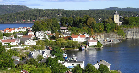 Porsgrunn-Norway | Beautiful Mosaic of Waterways with Intact Forests.