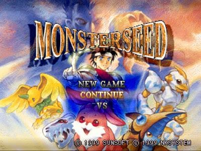 Monster Seed PS1 Opening
