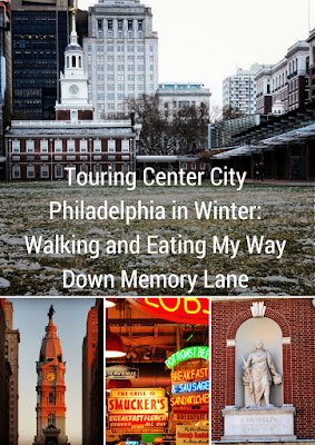 Touring Center City Philadelphia featuring City Hall, Reading Terminal Market, Benjamin Franklin and Independence Mall