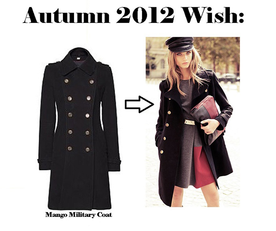 Autumn Wish: Military Coat